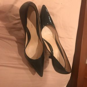 Size 10, small heel pumps